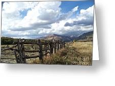 Colorado In Autumn Greeting Card