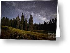 Colorado Milky Way Greeting Card