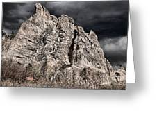 Colorado Monsoon Clouds Greeting Card