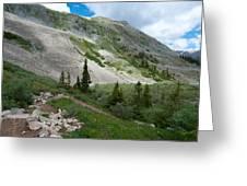Colorado Mountain Landscape Greeting Card