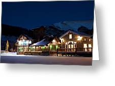 Colorado Mountain Life Greeting Card