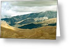 Colorado Mountain View Greeting Card by Eva Kato
