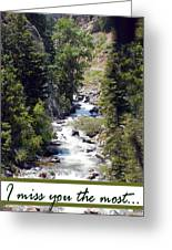 Colorado On My Mind Greeting Card