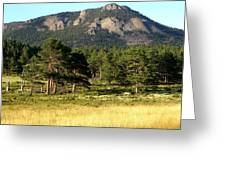 Colorado Outdoors Greeting Card