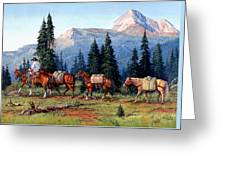 Colorado Outfitter Greeting Card