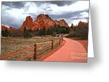 Colorado Path To Paradise Greeting Card