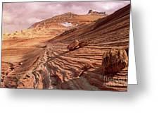 Colorado Plateau Sandstone Arizona Greeting Card