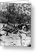 Colorado Railroad Wars Greeting Card