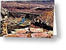 Colorado Rapids Grand Canyon Greeting Card