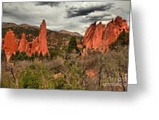 Colorado Red Rock Landcape Greeting Card