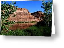Colorado River At Moab Greeting Card