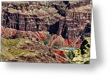 Colorado River In The Grand Canyon High Water Greeting Card