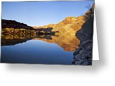 Colorado River Reflection Greeting Card