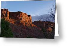 Colorado River Sunrise Greeting Card