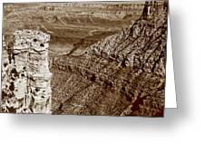 Colorado River View - Grand Canyon - Arizona Greeting Card