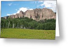 Colorado Side Of The Four Corners Area Greeting Card