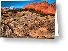 Colorado Springs Icon Greeting Card