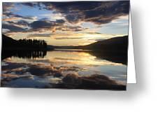 Colorado Sunset Greeting Card