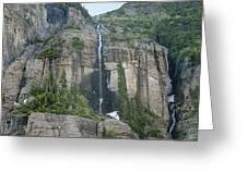 Colorado Waterfall Greeting Card