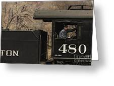 Colorados Durango Silverton Engine 480 Greeting Card