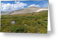 Colorado's Mt. Audoban Greeting Card