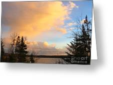 Colored Clouds Greeting Card