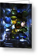 Colored Stones Of Light Greeting Card