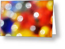 Colorful Abstract 8 Greeting Card
