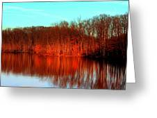 Colorful Afternoon Greeting Card by Jose Lopez