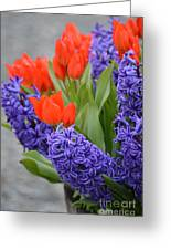 Colorful Arrangement Greeting Card