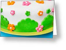 Colorful Cake Greeting Card