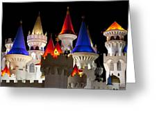 Colorful Castle Greeting Card