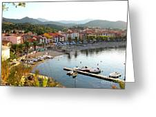 Colorful Collioure Greeting Card