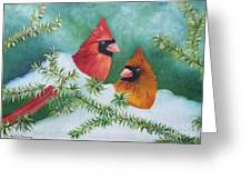 Colorful Companions Greeting Card