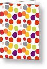Colorful Confetti  Greeting Card