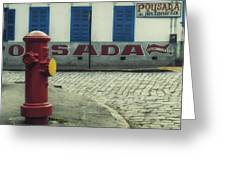 Colorful Corner Greeting Card