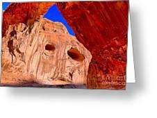 Colorful Corona Rocks Greeting Card