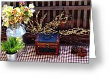 Colorful Country Still Life Greeting Card