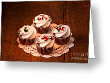 Colorful Cupcakes Greeting Card