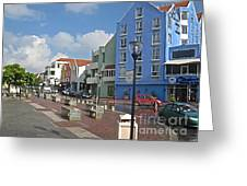 Colorful Curacao Greeting Card