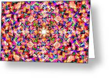 Colorful Digital Abstract Greeting Card