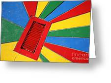 Colorful Drain Greeting Card