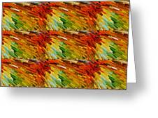 Colorful Extrude 2 Greeting Card