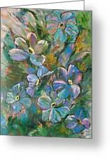 Colorful Floral Greeting Card
