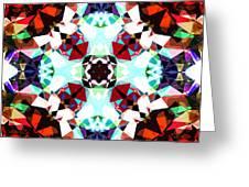 Colorful Kaleidoscope Creation Greeting Card