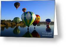 Colorful Landings Greeting Card