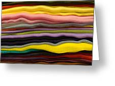 Colorful Layers Greeting Card