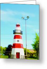 Colorful Lighthouse 2 Greeting Card