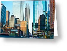 Colorful Minneapolis  Greeting Card