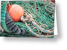 Colorful Nautical Rope Greeting Card